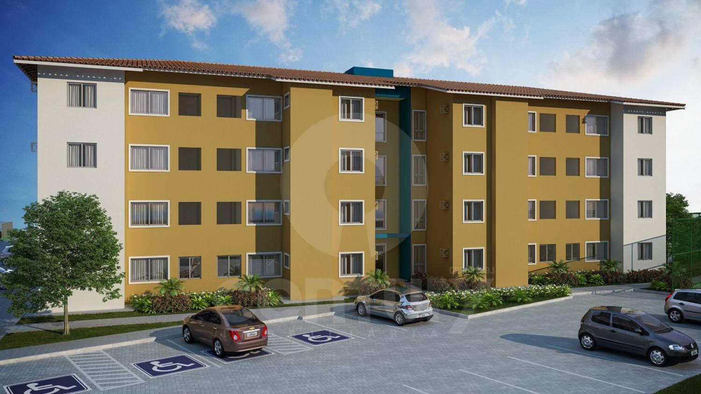 Canto Feliz Residencial Apartamento 2 Quartos à Venda no bairro Taiçoca de Fora em Nossa Senhora do Socorro/SE